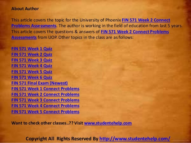 connect assignment answers Help close my dashboard assignments connect assignment 1 connect assignment 1 - chapter 1 due sep 21, 2013 by 11:59pm points 0 do connect.