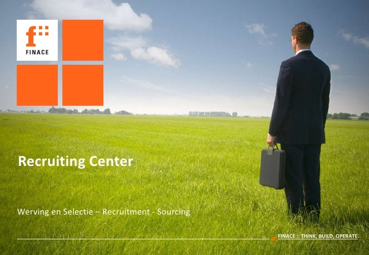 Recruiting Center Werving en Selectie – Recruitment - Sourcing