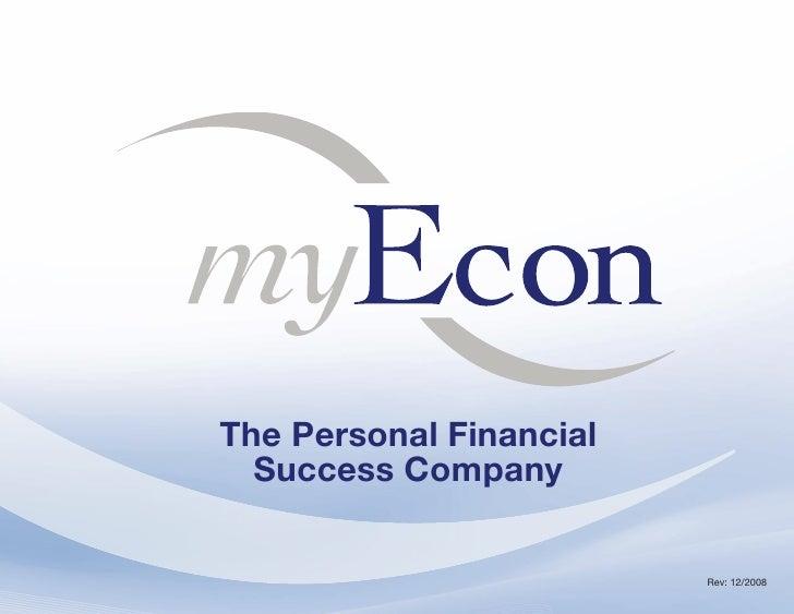 The Personal Financial   Success Company                           Rev: 12/2008          ~1