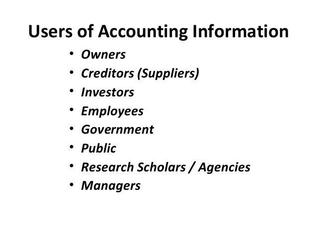 Finacial accounting
