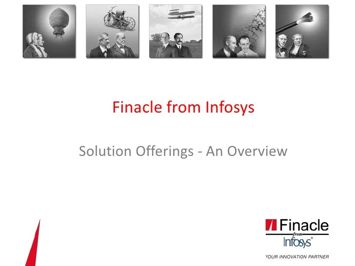 Industry Leading suite of Digital Banking Solutions - Infosys Finacle
