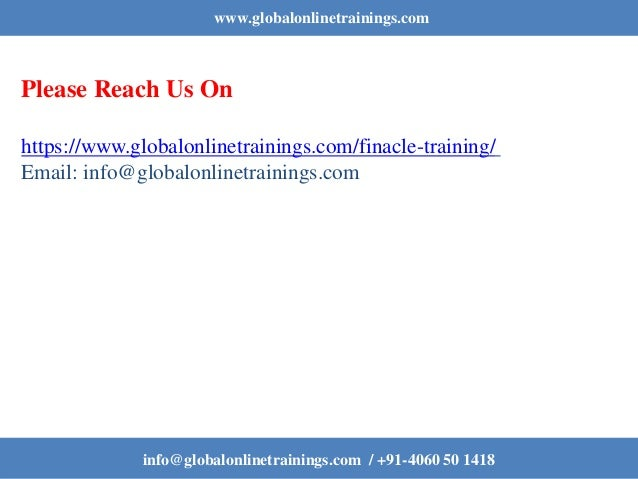 Finacle Training | Best Finacle Online Course in India – GOT