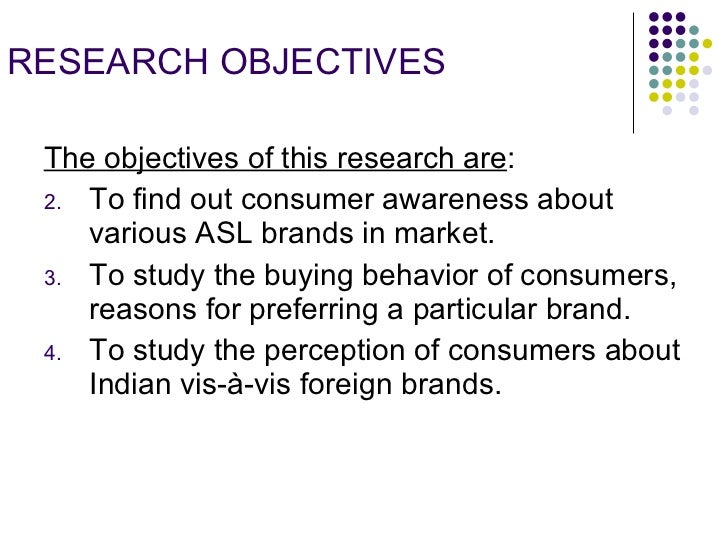 objectives consumer perception Similarly, brucks (1985) described three categories of consumer product class knowledge used in consumer behavior research: (a) subjective knowledge, the individual's perception of how much s/he knows (b) objective knowledge, a measure what an individual actually knows and (c) prior experience, the amount of.