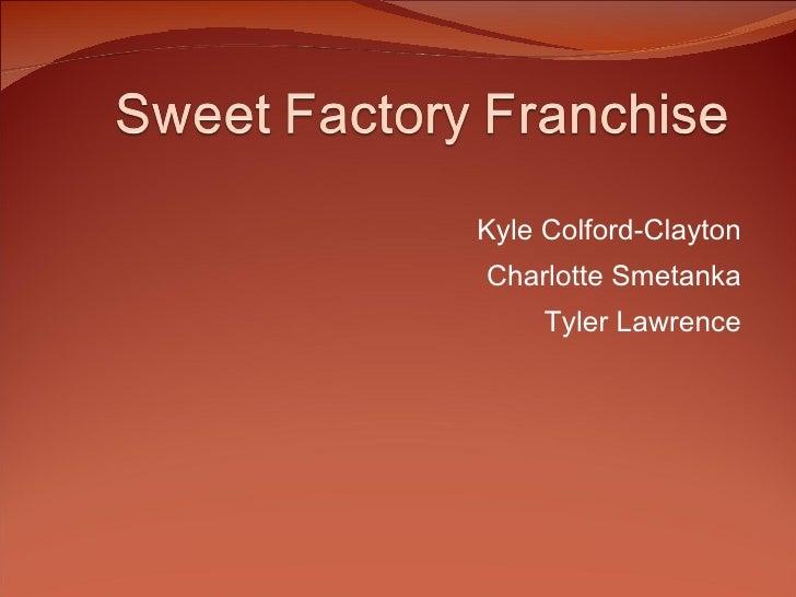 Kyle Colford-Clayton Charlotte Smetanka Tyler Lawrence