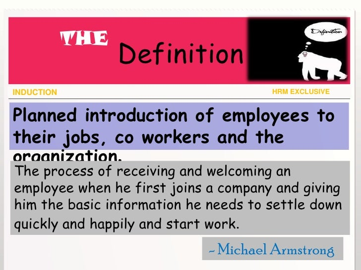 organization and induction And how their role aligns with the priorities of the whole organisation the  strategy is  the doe induction strategy provides a model that advocates a  consistent.