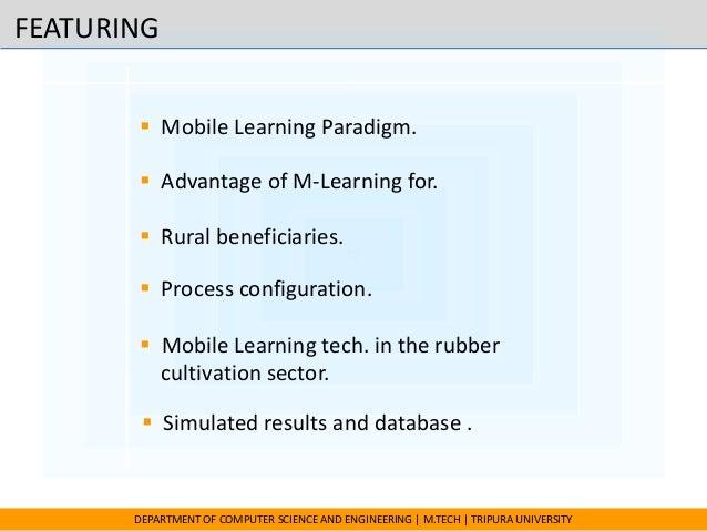 Mobile ommunication for Rubber cultivation Slide 2