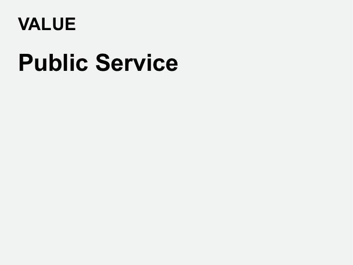 VALUEPublic Service