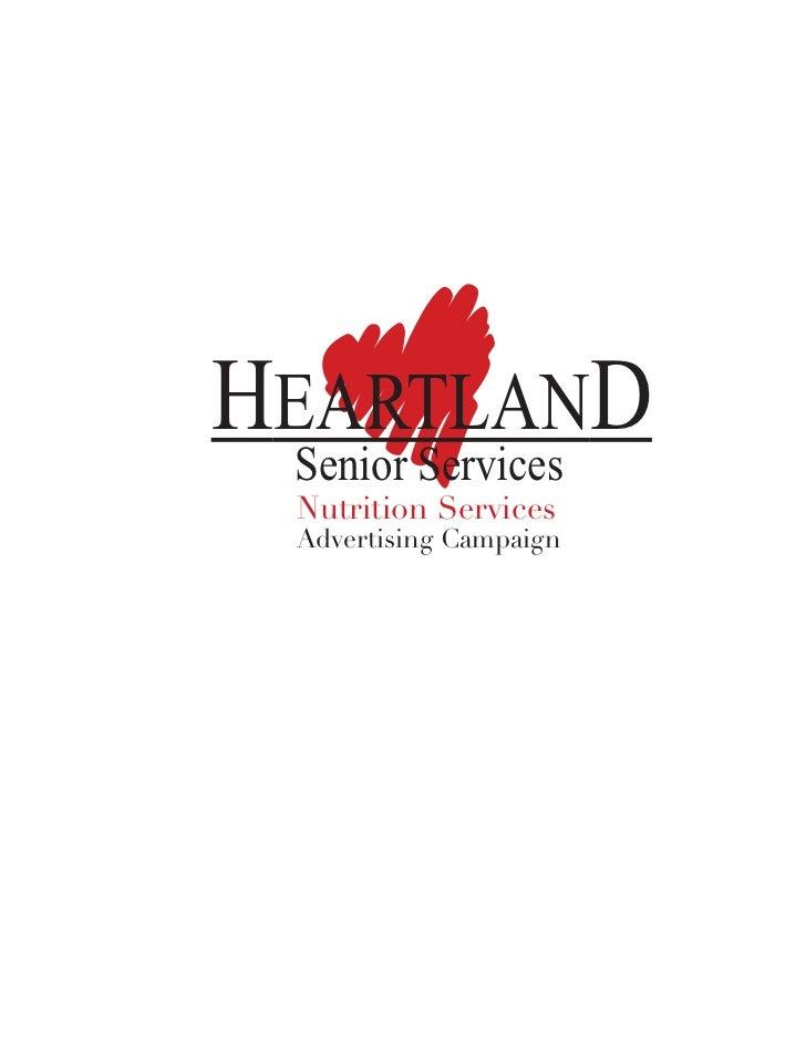 HEARTLAND  Senior Services   Nutrition Services   Advertising Campaign
