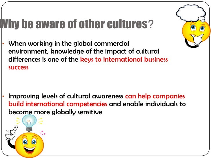 Cultural Understanding and Global Thinking in Business