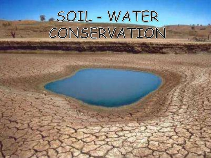soil and water conservation essays