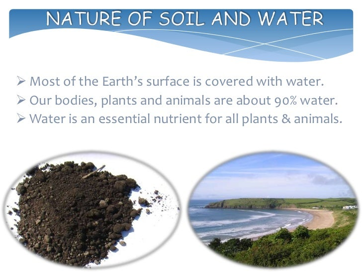 Soil water conservation for Soil and water conservation