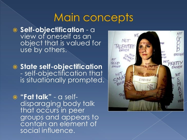 Objectification Theory, Self-Objectification, and Body Image (PDF ...