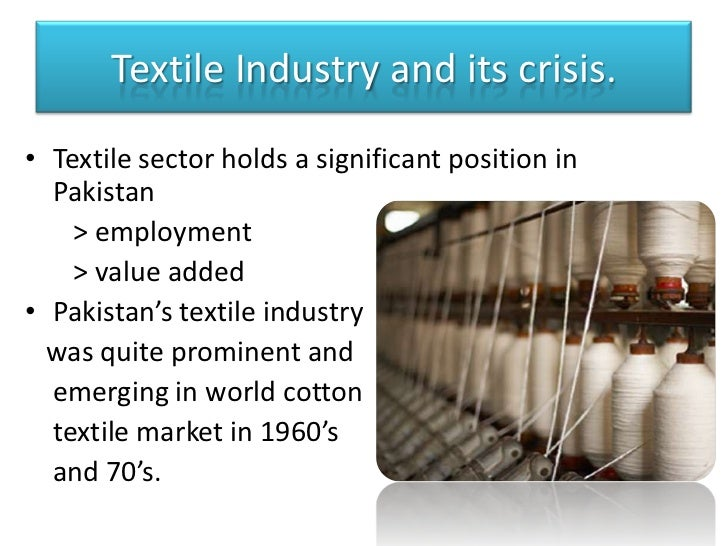 key issue in pakistan industry Pakistan at the cross roads for health: challenges   moving beyond the  health sector, it builds convergence with  development of key.