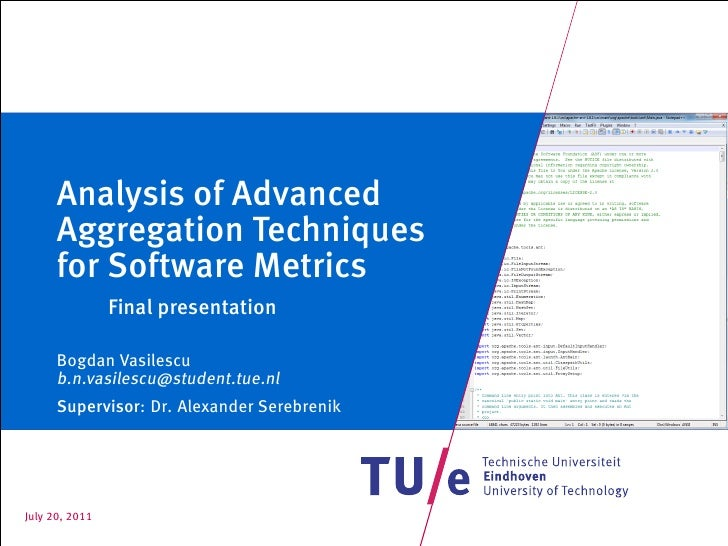 Master thesis presentation
