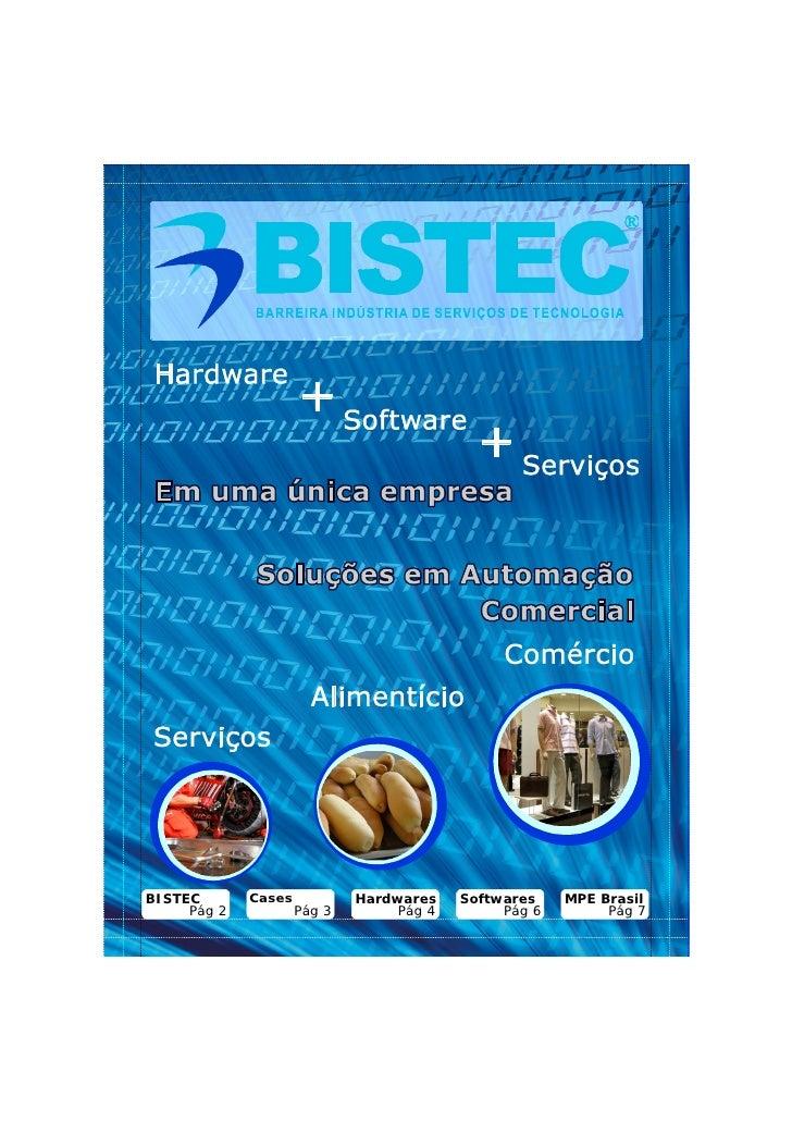 BISTEC       Cases           Hardwares    Softwares    MPE Brasil     Pág 2           Pág 3        Pág 4        Pág 6     ...