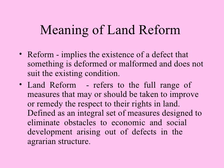 agrarian reform project essay 1 define agrarian reform in the philippines the present agrarian law implemented nationwide is the republic act no 6657 otherwise known as the comprehensive agrarian reform law or carl.