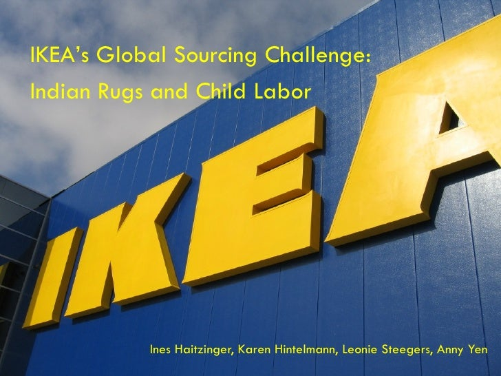 case study ikeas global sourcing challenge