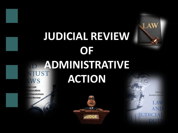 Judicial Review Of Administrative Action In Pakistan