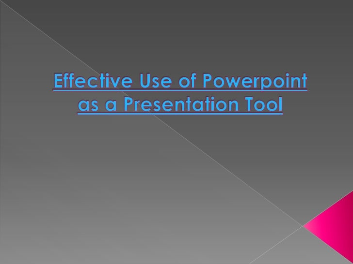 Slide presentations software such asPowerPoint has become an ingrainedpart of many instructional settings,particularly in ...