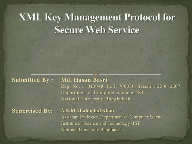 Submitted By :   Md. Hasan Basri                 Reg. No. : 1010048, Roll: 700030, Session: 2006 -2007                 Dep...