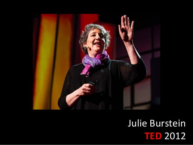 Julie Burstein     TED 2012