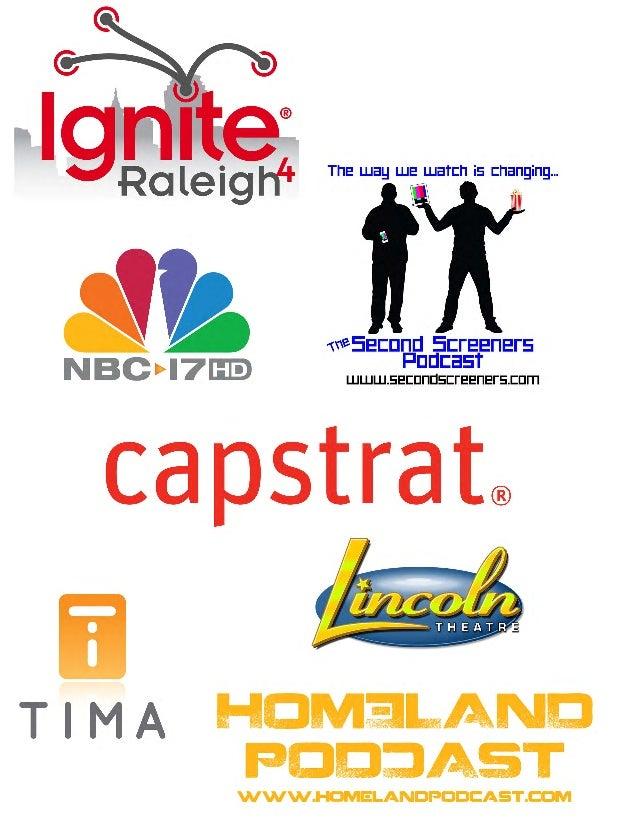 Ignite Raleigh 4 sponsors