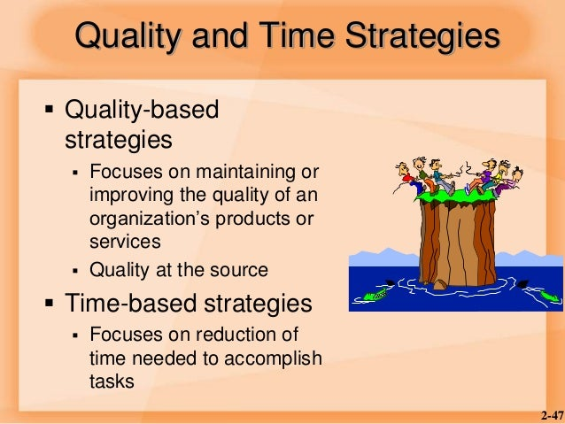 a competitive strategy based on quality Keywords: competitive advantage, strategic management, total quality  ' resource-based view' (barney, 1991) on the other side, accept the attitude that.