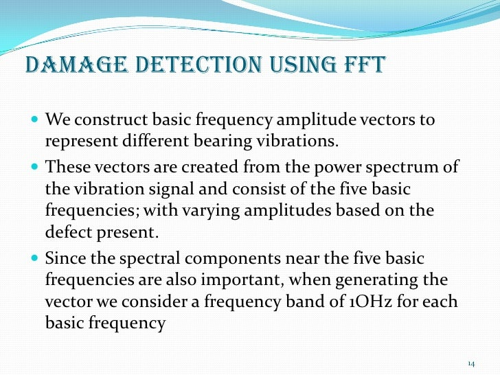 Analysis of vibration signals to identify cracks in a gear unit