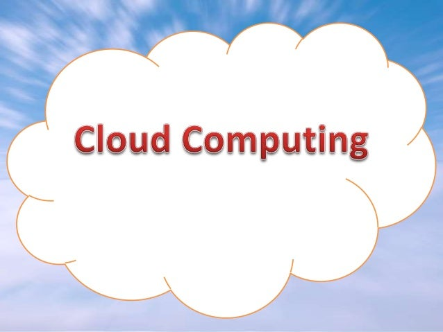 WHAT IS A •  CLOUD  ?  is defined as the network of servers and clients in the web. It uses the concept of CLOUD COMPUTING