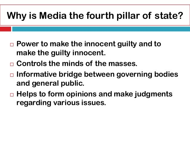 essay on role of media in promoting good governance