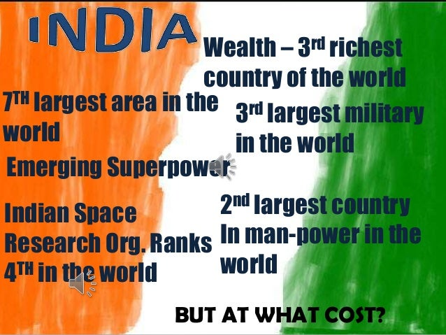 india an emerging super power Besides, india has a strong sense of itself as an emerging superpower until now,  in the modern world, an underperforming economy has held.