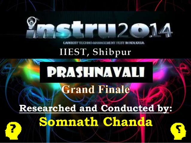 Researched and Conducted by: Somnath Chanda