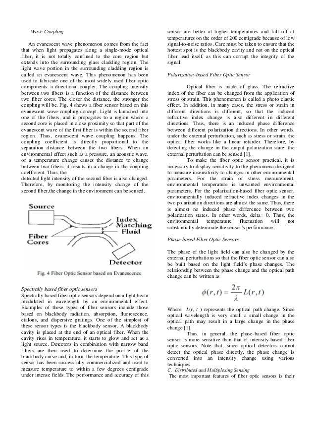 Fiber Optics Essays (Examples)