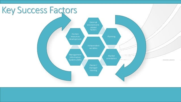 SME`s key Success Factors