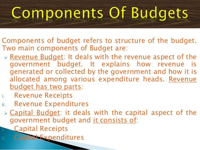 ppt on government budget