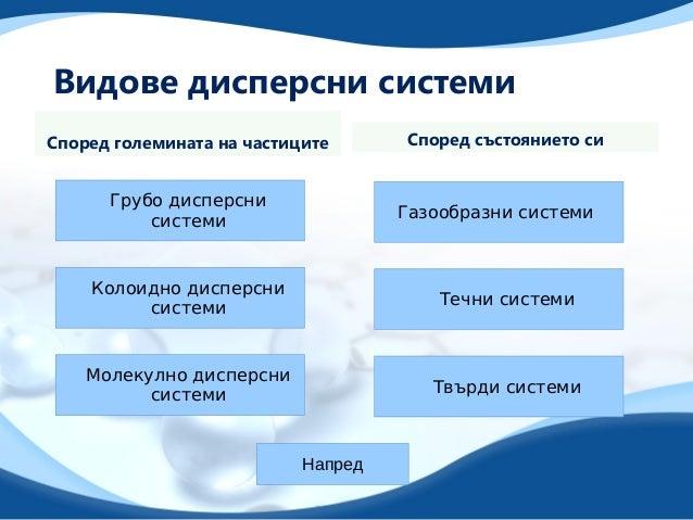 Дисперсни системи Slide 3