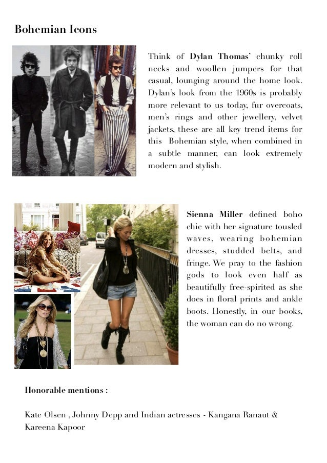 Bohemian Fashion Culture