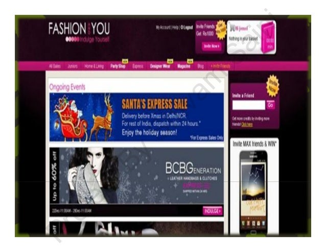 Fashion and you login page 97