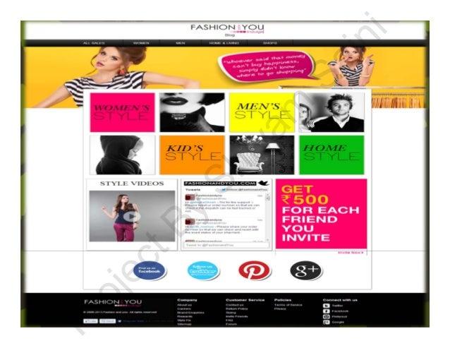 Fashion and you login page 84