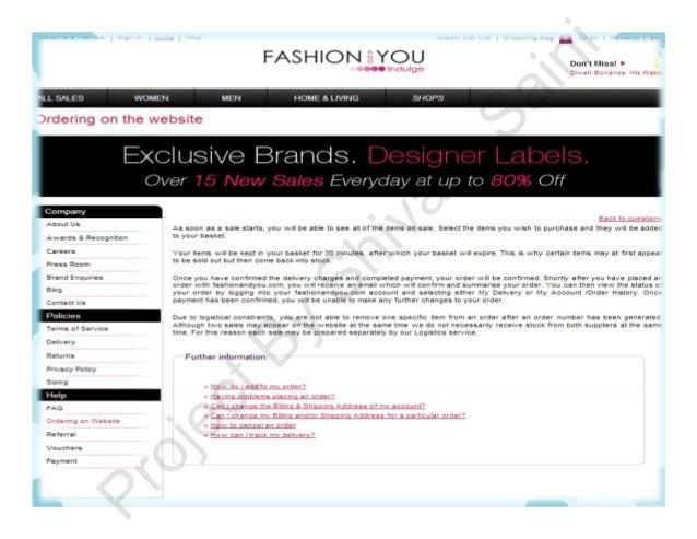 Fashion and you login page 54