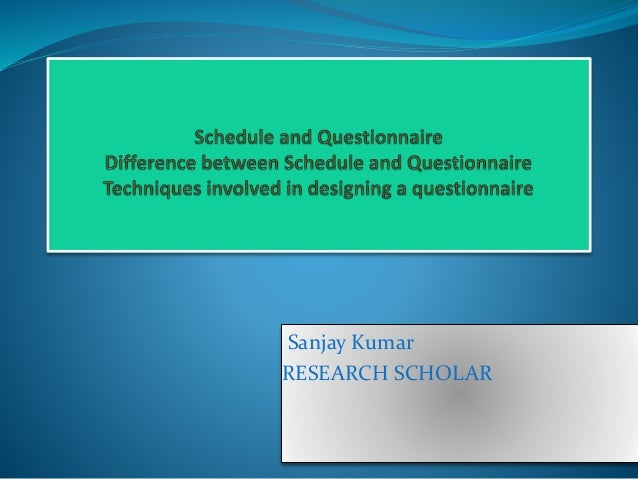 Sanjay Kumar RESEARCH SCHOLAR