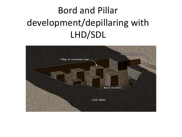 Bord and Pillar development/depillaring with LHD/SDL