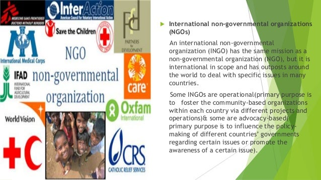 united nation and non governmental organization The united nations' system is comprised of the un itself and more than 30 affiliated un agencies, funds and programs • world health organization.