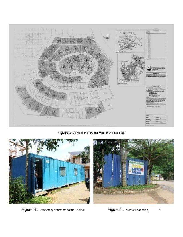 Site visit report measurement i building materials for I 10 building materials