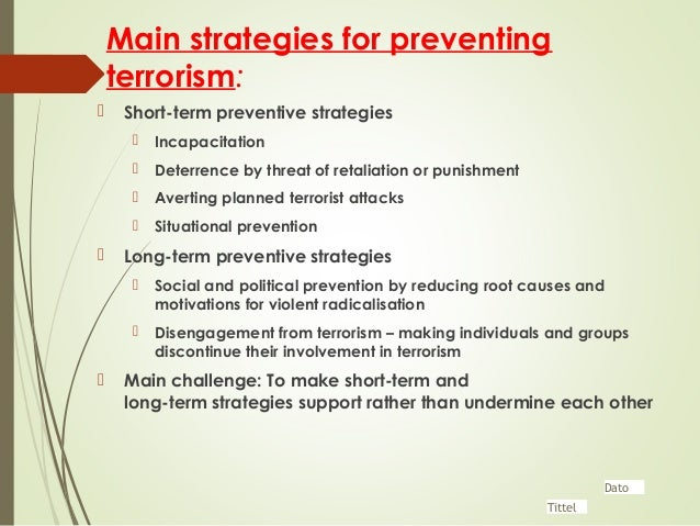adequacy of organizations long term counter attack Finally, part five looks at the effects of the terrorist attacks on the us public health system, at the potential role of compensation policy for losses incurred by terrorism, and at the possible long-term effects of terrorism and counterterrorism on american values, laws, and society.