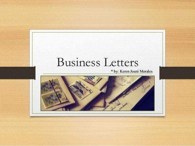 Business Letters Application Sales Amp Endorsement Letters