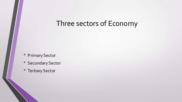 interdependence of indian economy on primary secondary tertiary Explain the interdependence of the three sectors primary and secondary it is reflected that all the sectors of economy are highly interdependent in india.