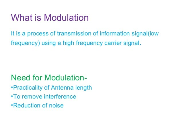 Am Modulation And Demodulation With Circuit And Output