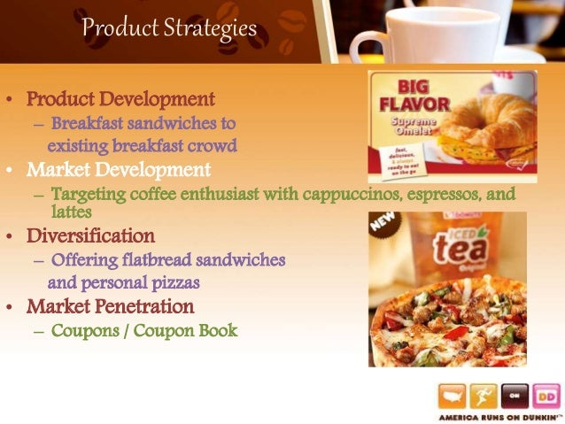 marketing research dunkin donuts