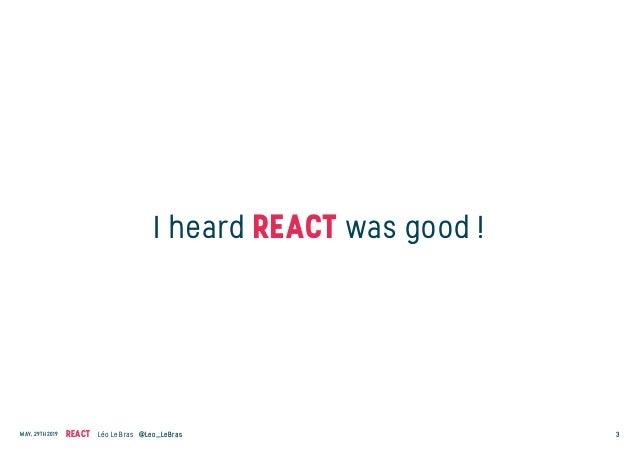 Workshop React.js et développement Javascript moderne Slide 3